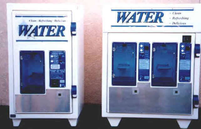 Water vending machines for sale - click here for website!