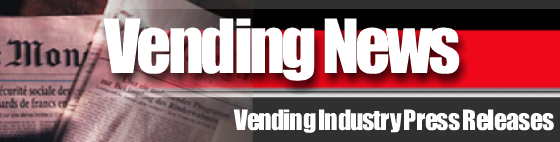 vending news, vending business press releases, vending announcement articles. coin operated industy news, products, machines and vending business information!
