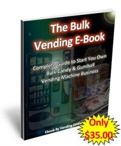 Bulk Candy Gumball Vending start up ebook