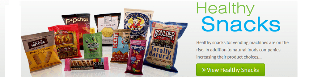 Healthy Vending Machine Snack Foods Wholesale!