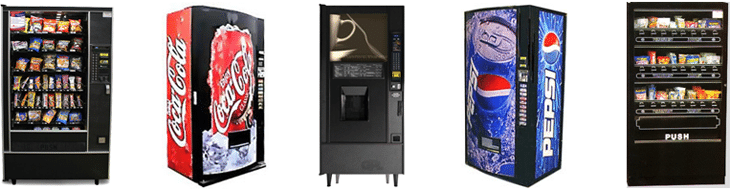 Click here for more Full size Vending MachineLineup