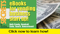 Vending Start up ebooks!