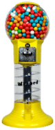 Lil' Wizard - the Fun Spiral Gumball Machines for sale!