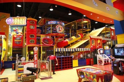 Landmark Fun Ville play area