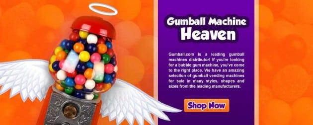 Bulk Gumball Vending Machines for sale