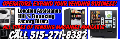 Factory Direct Vending Machines