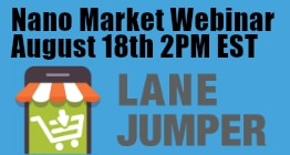 Nano Market Webinar Aug 18th 2PM EST