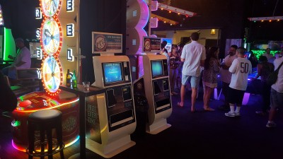 Embed Kiosks at Lucky Strike Social