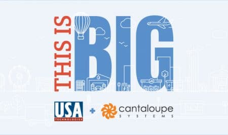 USA Technologies buys Cantaloupe