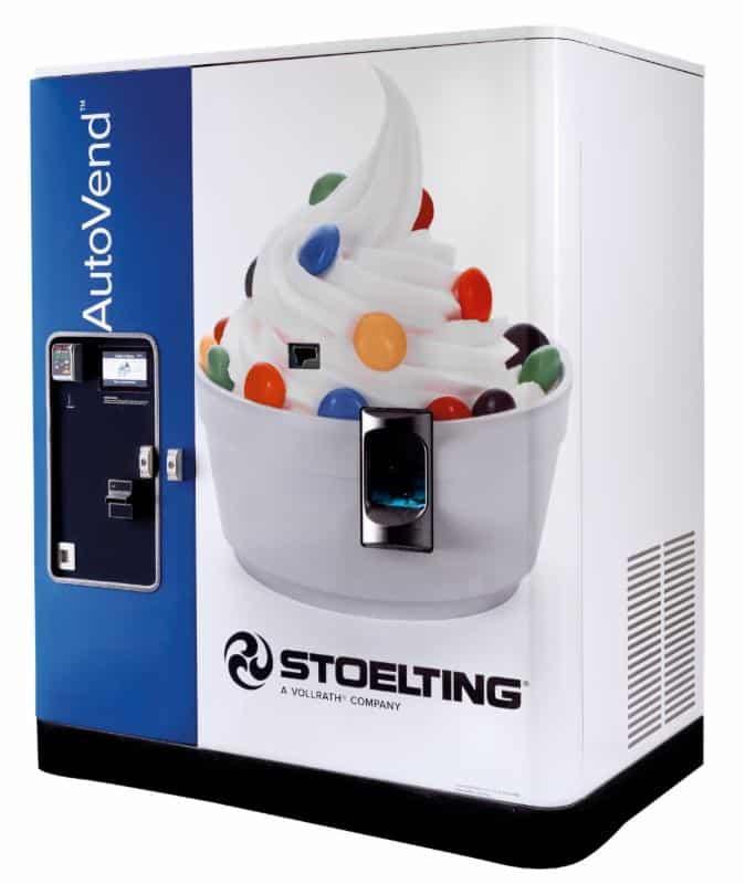 Pro AutoVend Frozen Yogurt Vending