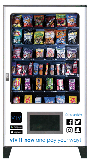 AMS Touchless Vending Mahcines