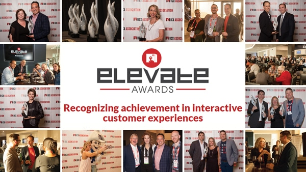 icxa 2018 elevate awards