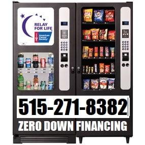 Vending Machines Zero Down!!