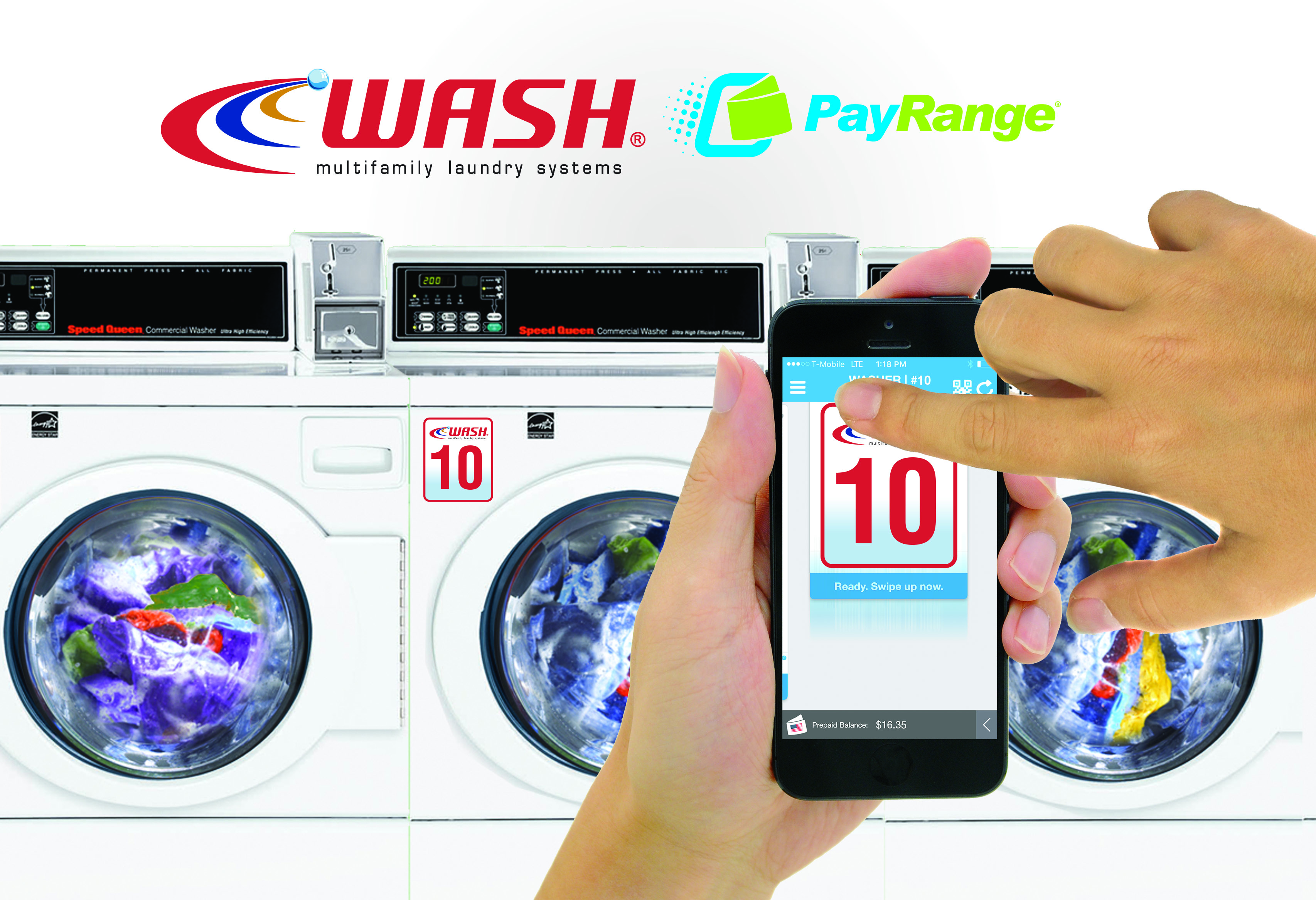 Wash Systems with Payrange
