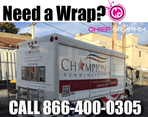 Chief Graphics Wraps