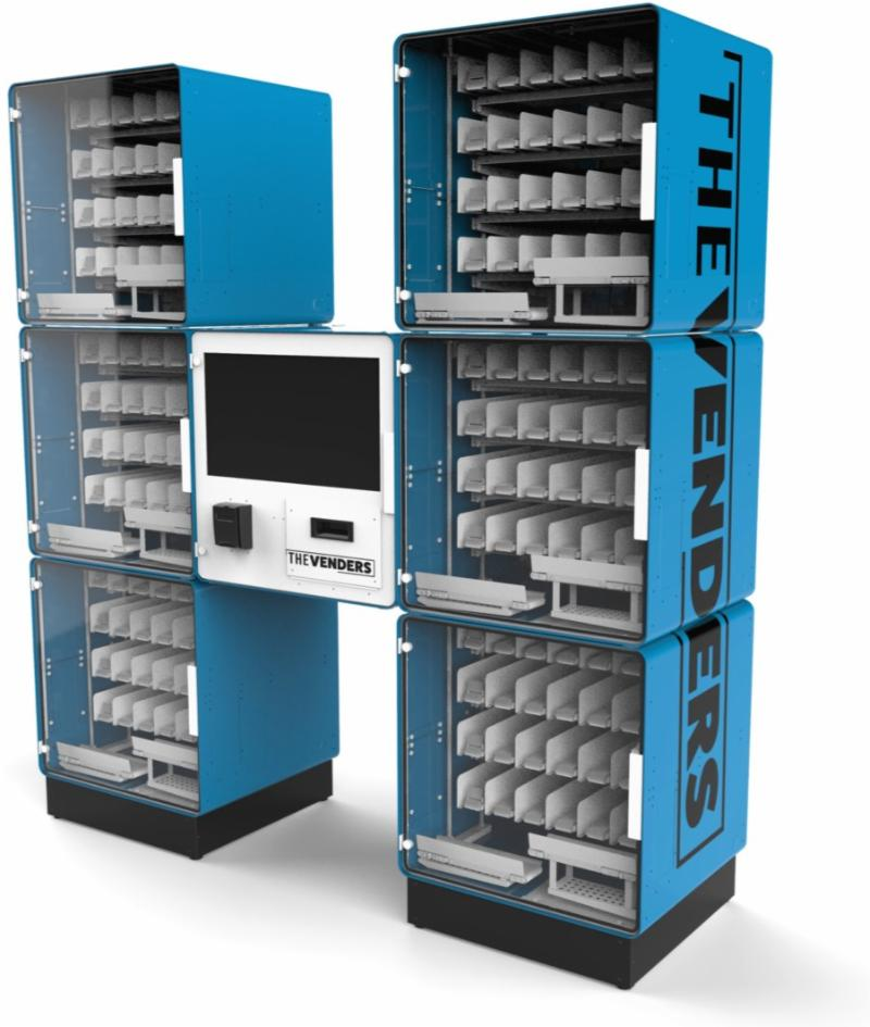 The Venders modular vending