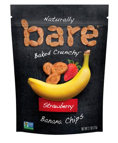 Bare Snacks Strawberry Banana