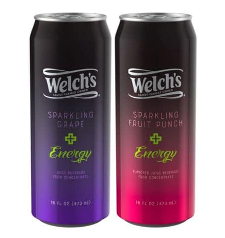 Welch's Sparkling Energy Drink