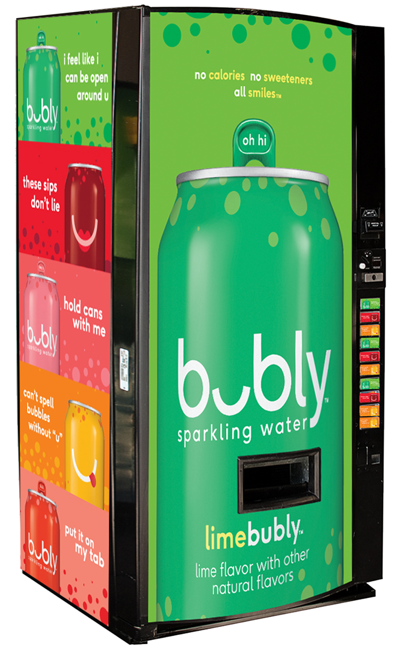 Bubly Vending Machine