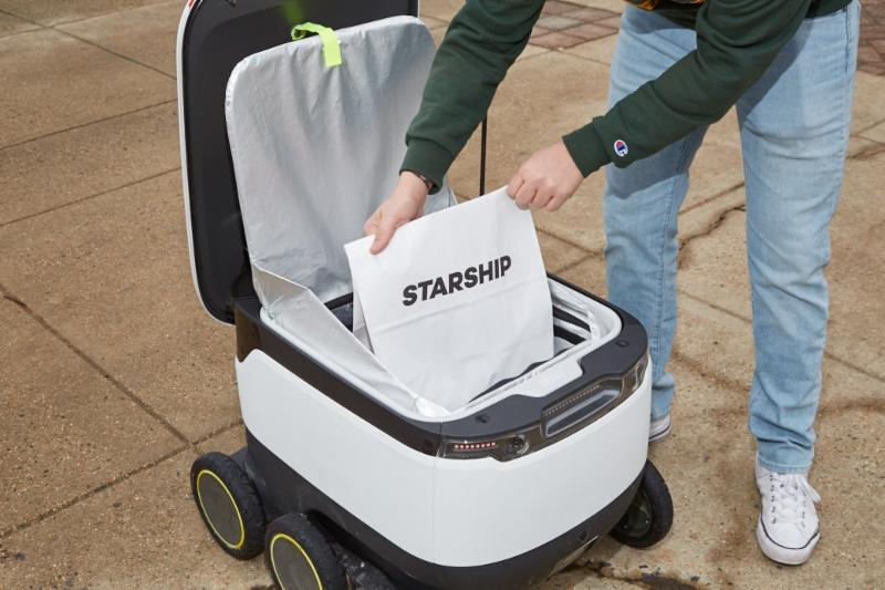 Sodexo Starship Robots