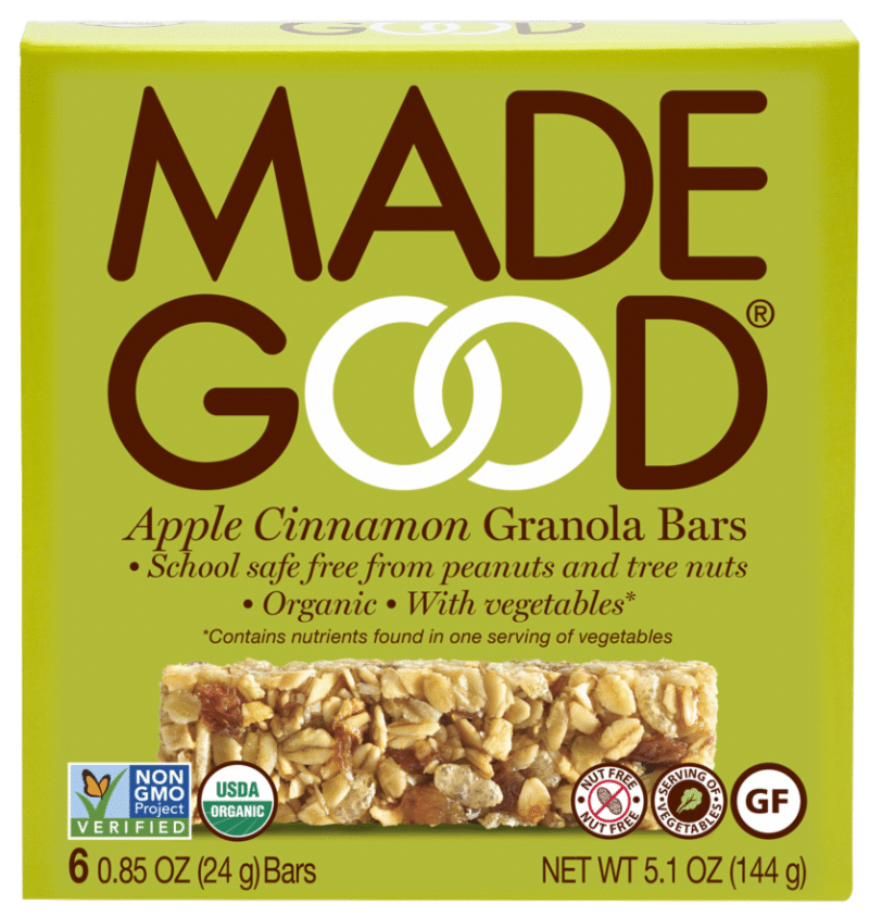 Made Good -6pk-Bars-AppleCinnamon