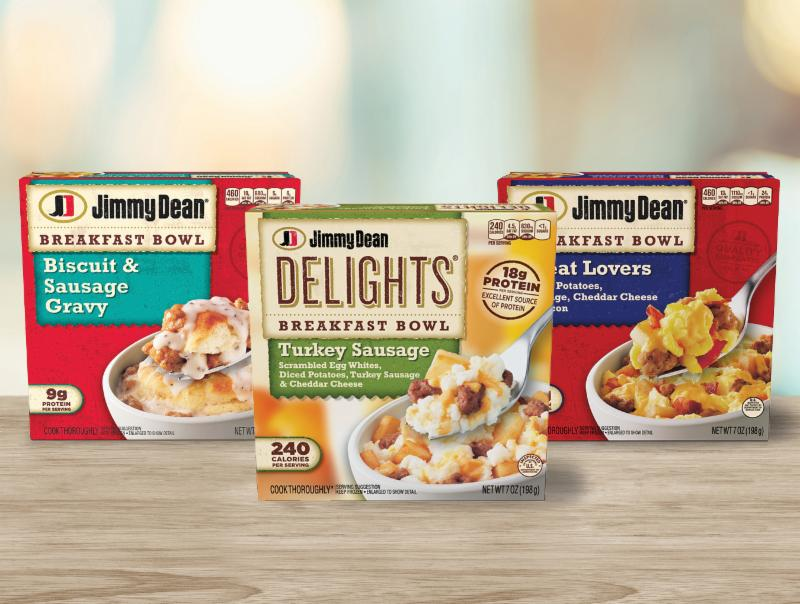 Jimmy Dean Breakfast Bowls