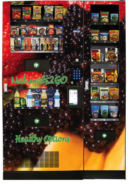 healthy vending machine route
