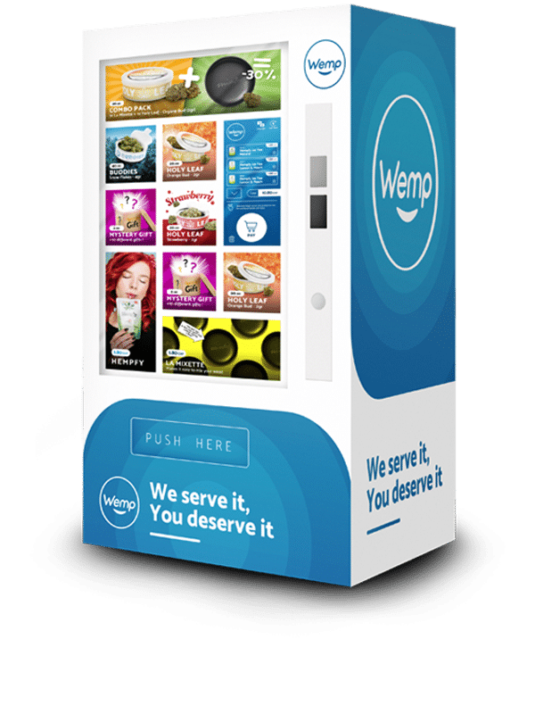 Wemp Vending Machine