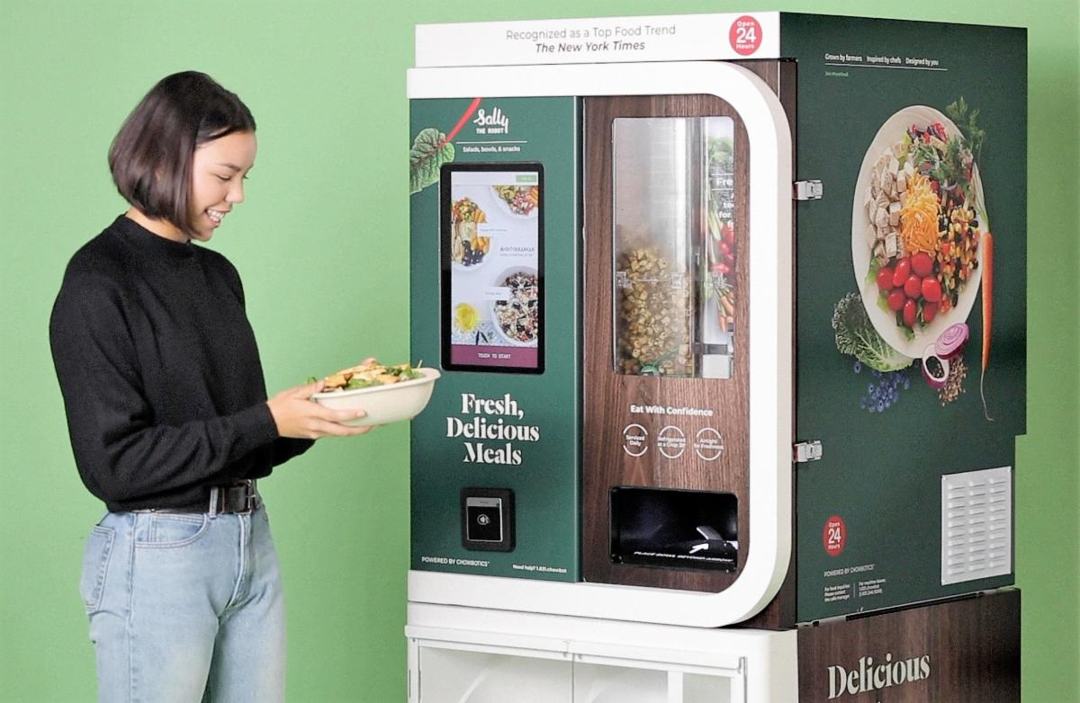 Chowbotics Salad Vending Machine