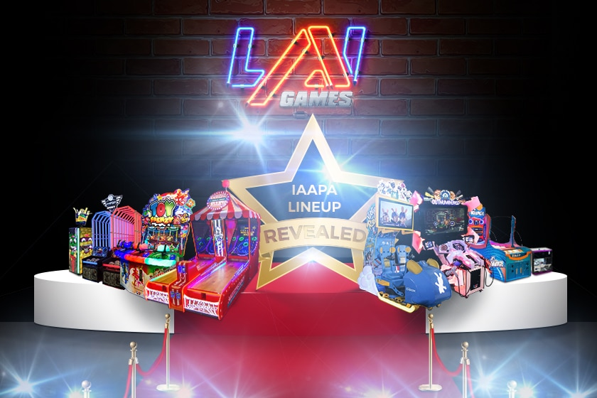 Lai Games Line up IAAPA
