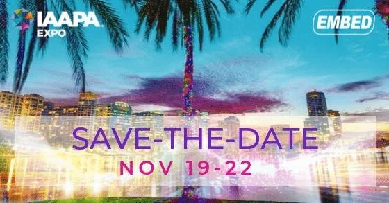 IAPPA 2019 Nov, 19-22, Orlando