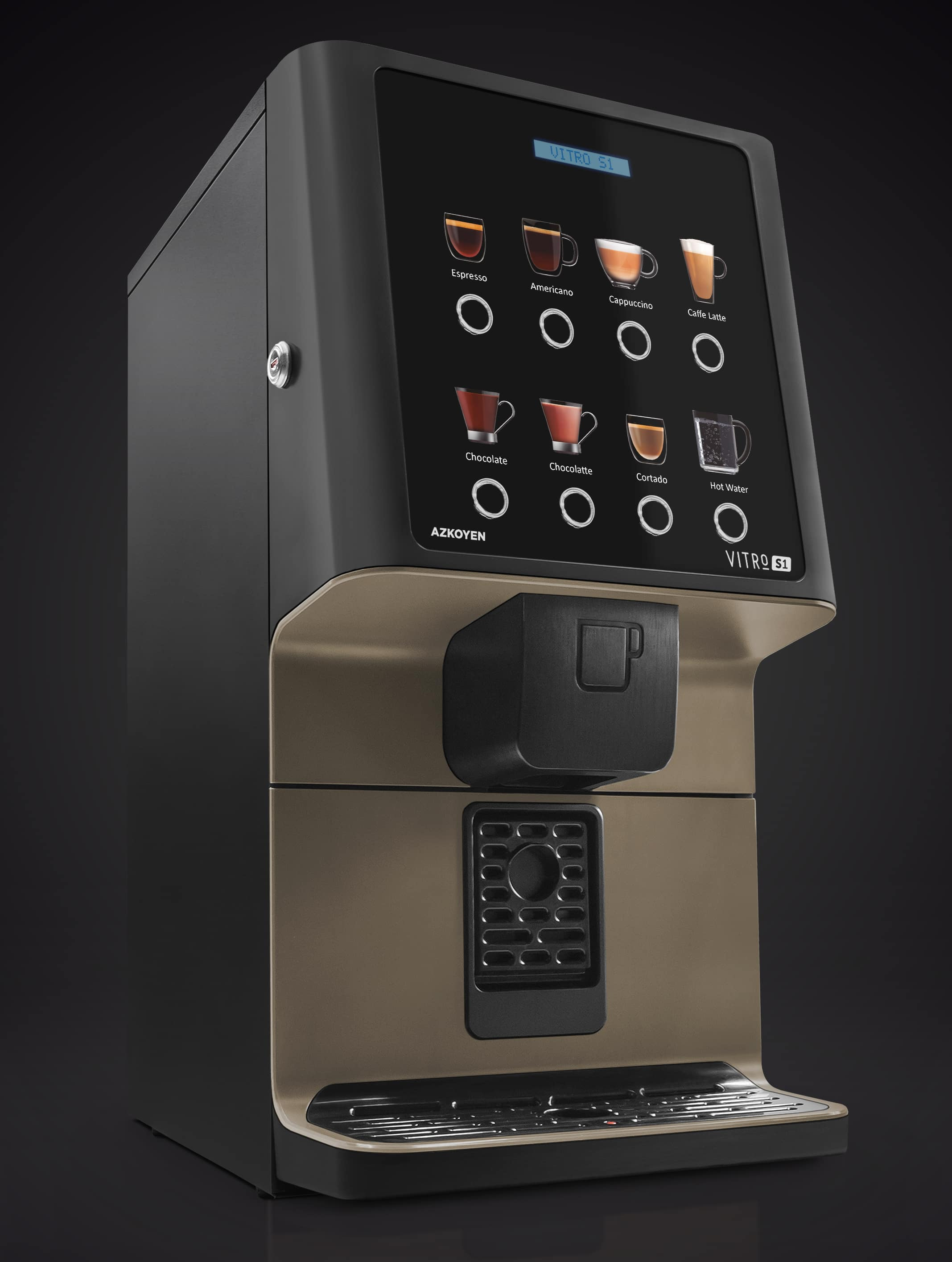 Azkoyen's Coffee Machine