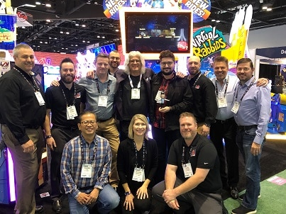 LAI Games Wins Bobble Award - IAAPA 2019