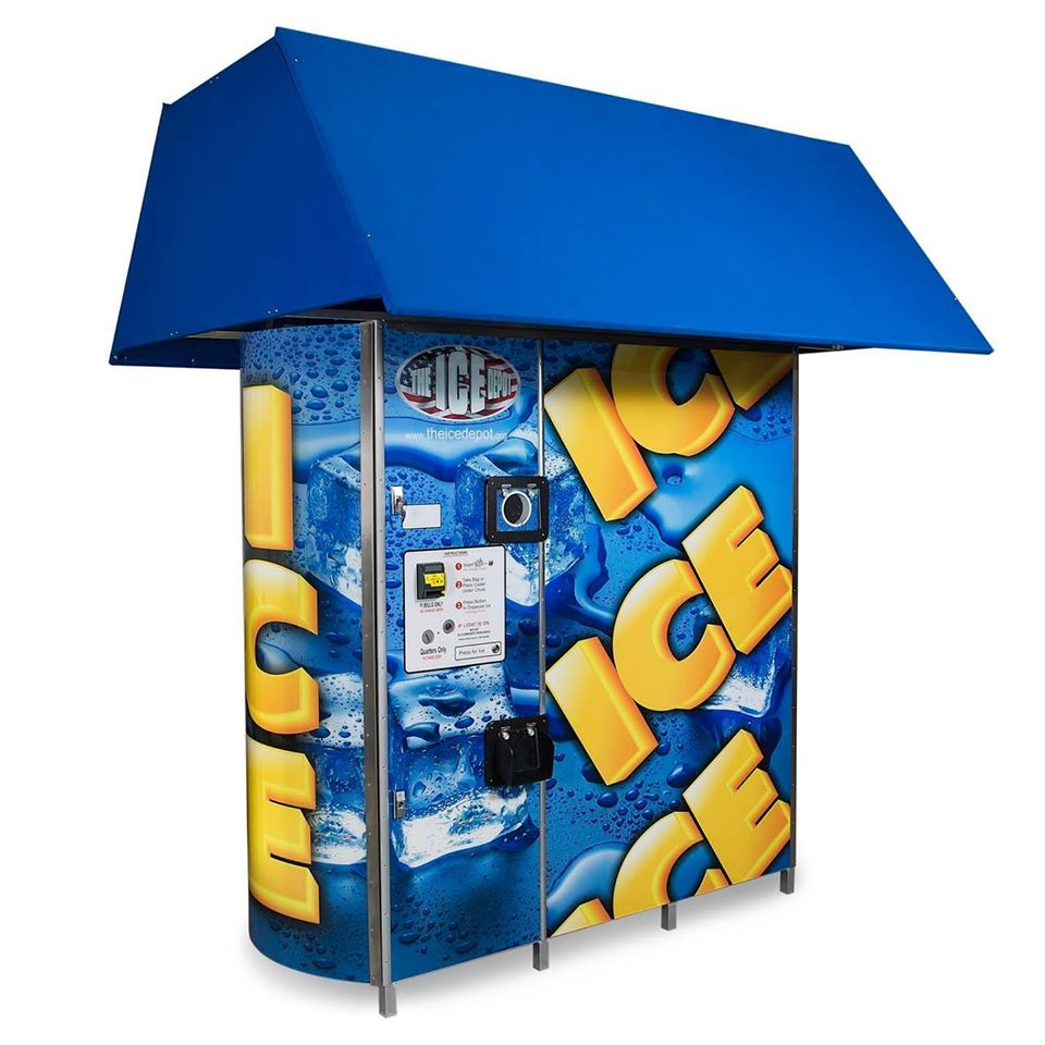 The Ice Depot, Ice Vending