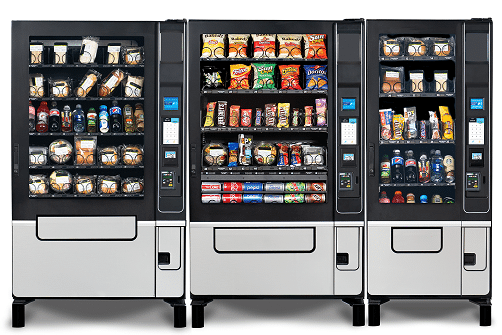Evoke Combo Vending Machines