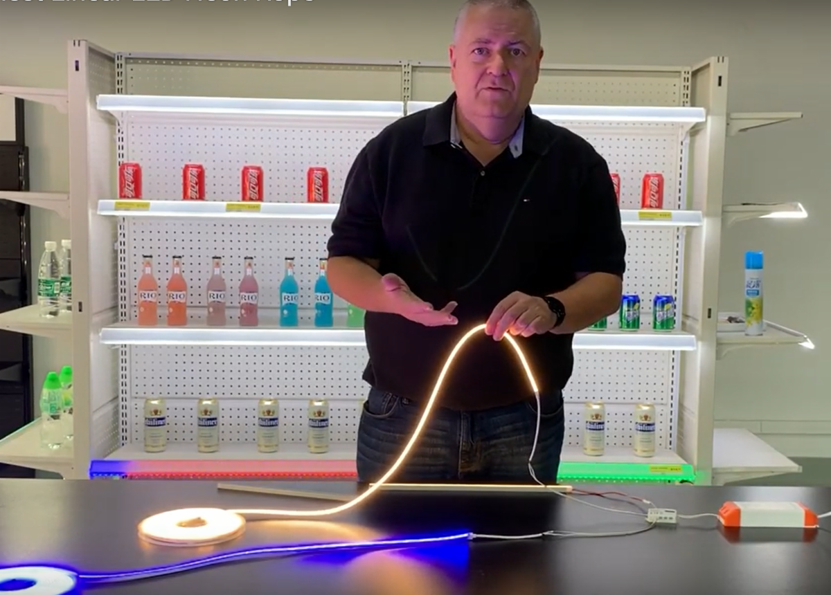 Luxx LED Lighting for vending machines