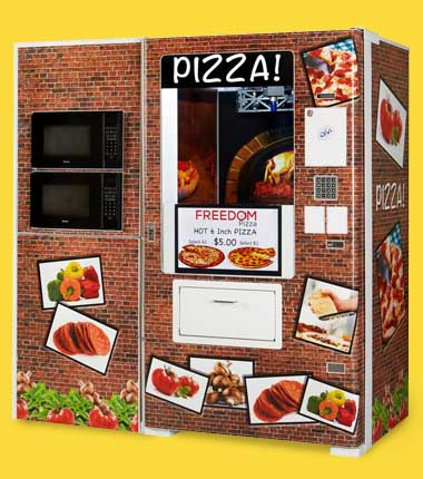 Fastcorp Pizza vending machine