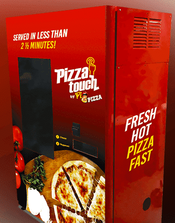 Pizza Touch Vending Machine