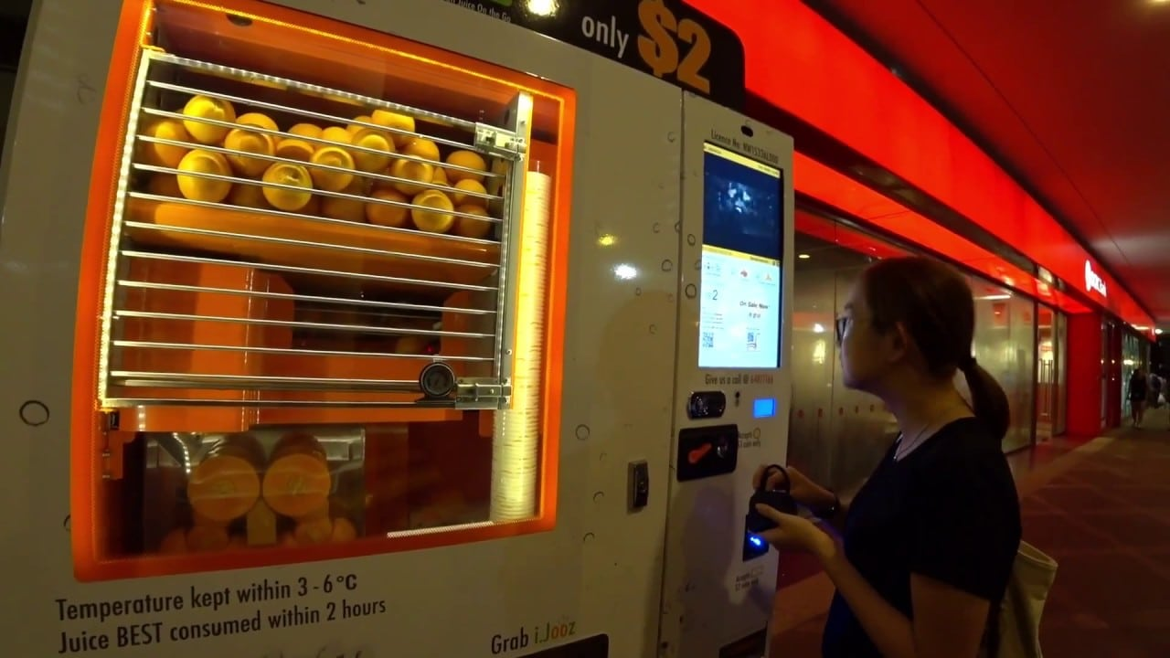 ijooz, juice vending