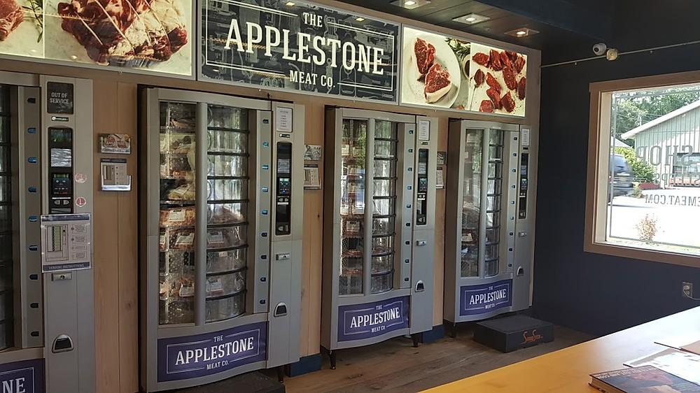 Applestone Meat Co Vending Machines