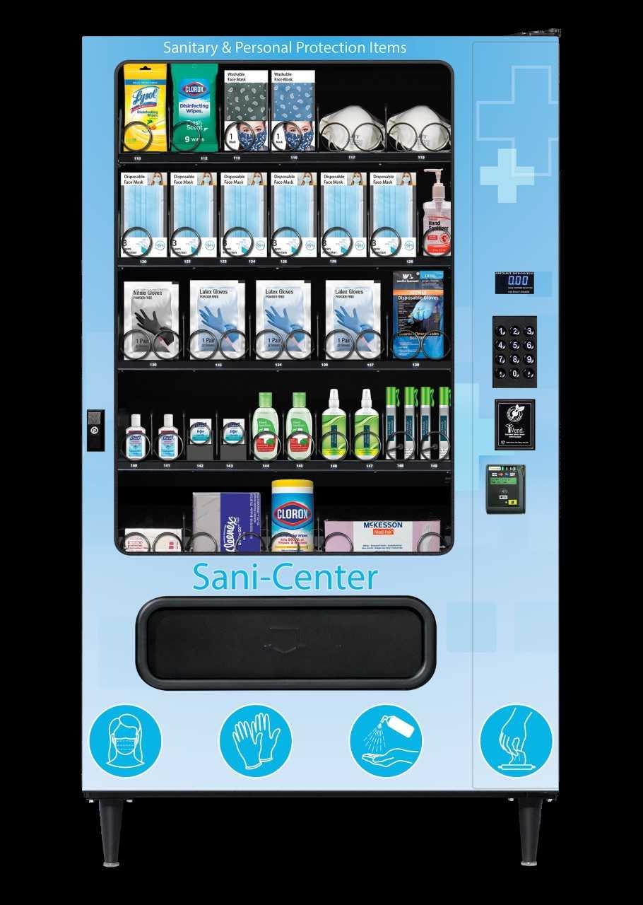 Sani-Center Vending Machines