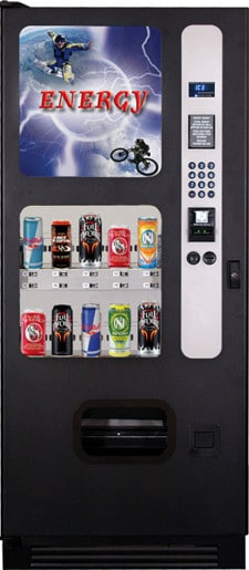 Energy Drink Vending Machines