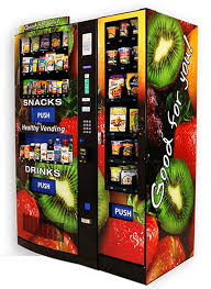 Healthy You Vending Machine with entree