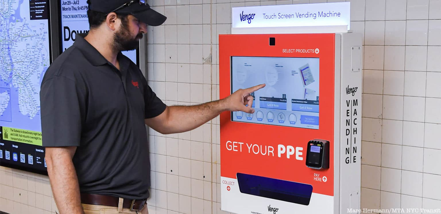 Vengo PPE Vending Machines