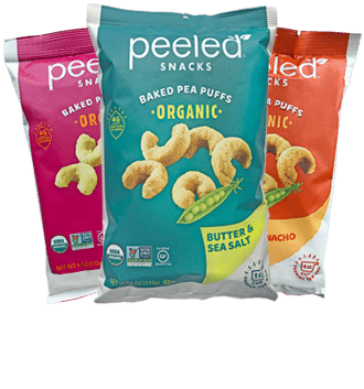 Pealed Snacks Pea Puffs