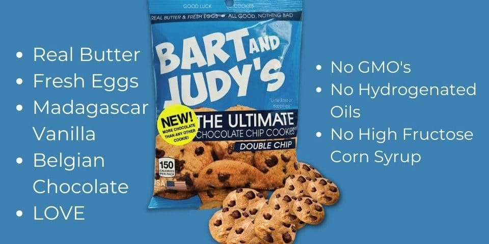 Bart and Judys Chocolate Chip Cookies