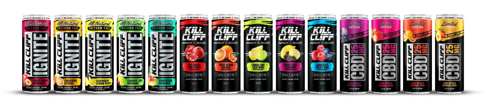 kill cliffs energy dirnks