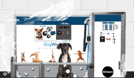 Iclean Dog Wash Machines