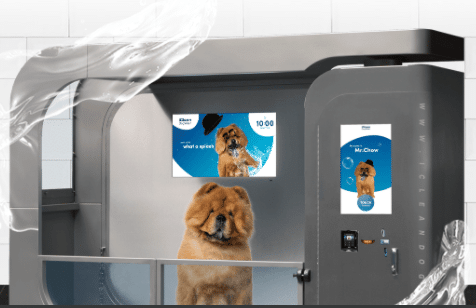 iclean dog wash system