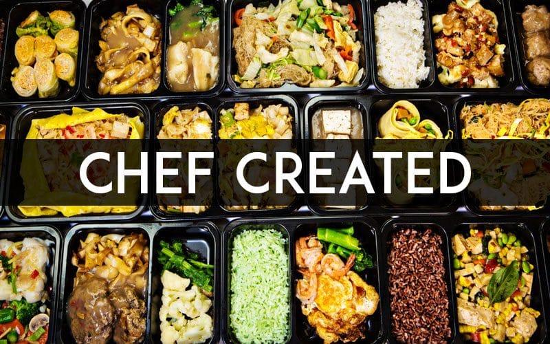 QM Box Chef Created meals